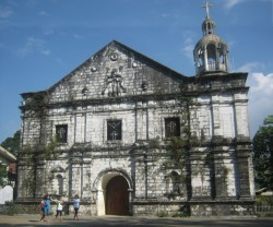 Front of San Andres Church
