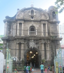 front of Saints Peter and Paul Parish