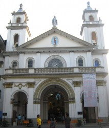 Front of St. Vincent de Paul church